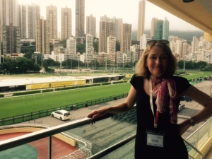 Kate Armitage at the Hong Kong Jockey Club (2)